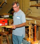 Steve Leblanc talked about his early functional turnings