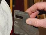 Sharpening the cutter tip