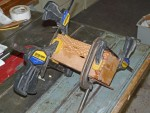 Clamping the final glue-up