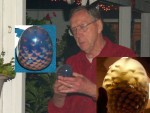 Jim Rinde - Pinecone paperweight in epoxy