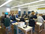 At Cabrillo classroom