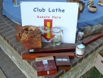 Raffle prizes and school lathe donation fund