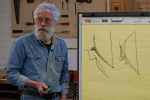 Showing how large tenon and foot design relate