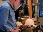 Using the reverse shear scrape to shape the bottom
