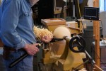Cutting off the tenons