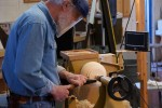 Forming the large base tenon