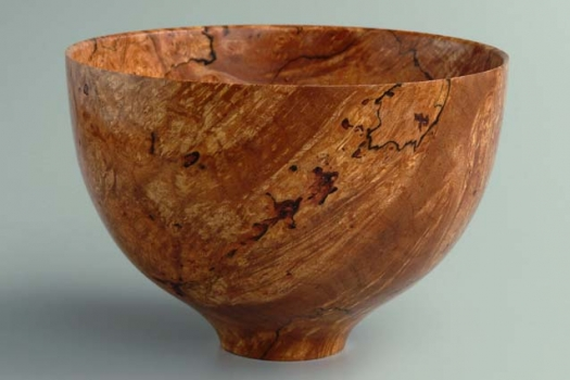Bowl- view 1 - Big Leaf Maple Burl 5.5
