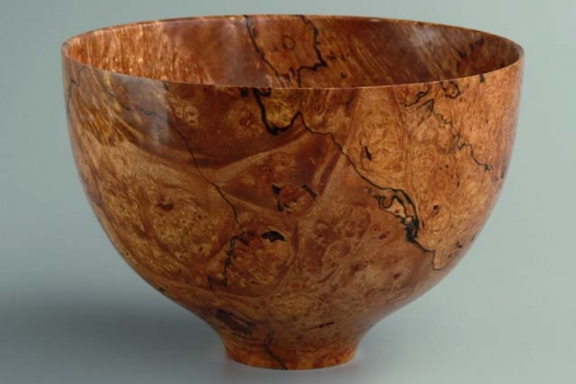 Bowl - view 2 - Big Leaf Maple Burl 5.5