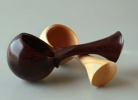 King Wood and Ficus eccentric scoops - 2.25