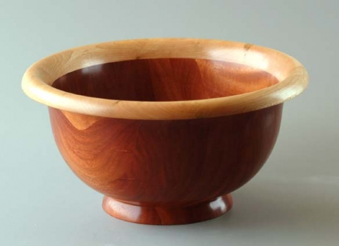 Mahogany and Maple Bowl 5