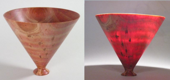Thin-walled Vase - Pine 7