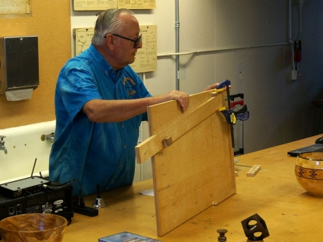Best method for cutting segments - shop-built slider for table saw
