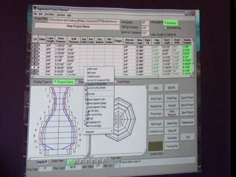 It calculates the segments needed