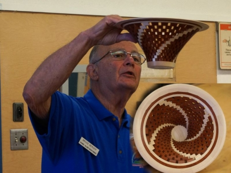 Bruce B. - open segmented bowl