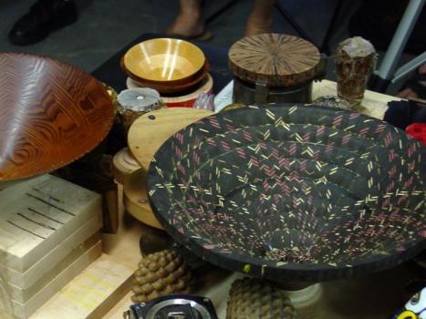 Veneer accents in Gabon Ebony base wood