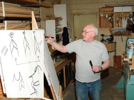 Allan explains shapes for the skew