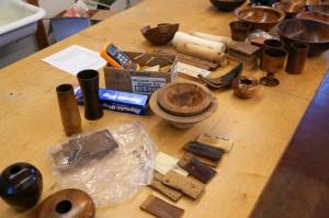 Jim R.'s roasted wood items 1