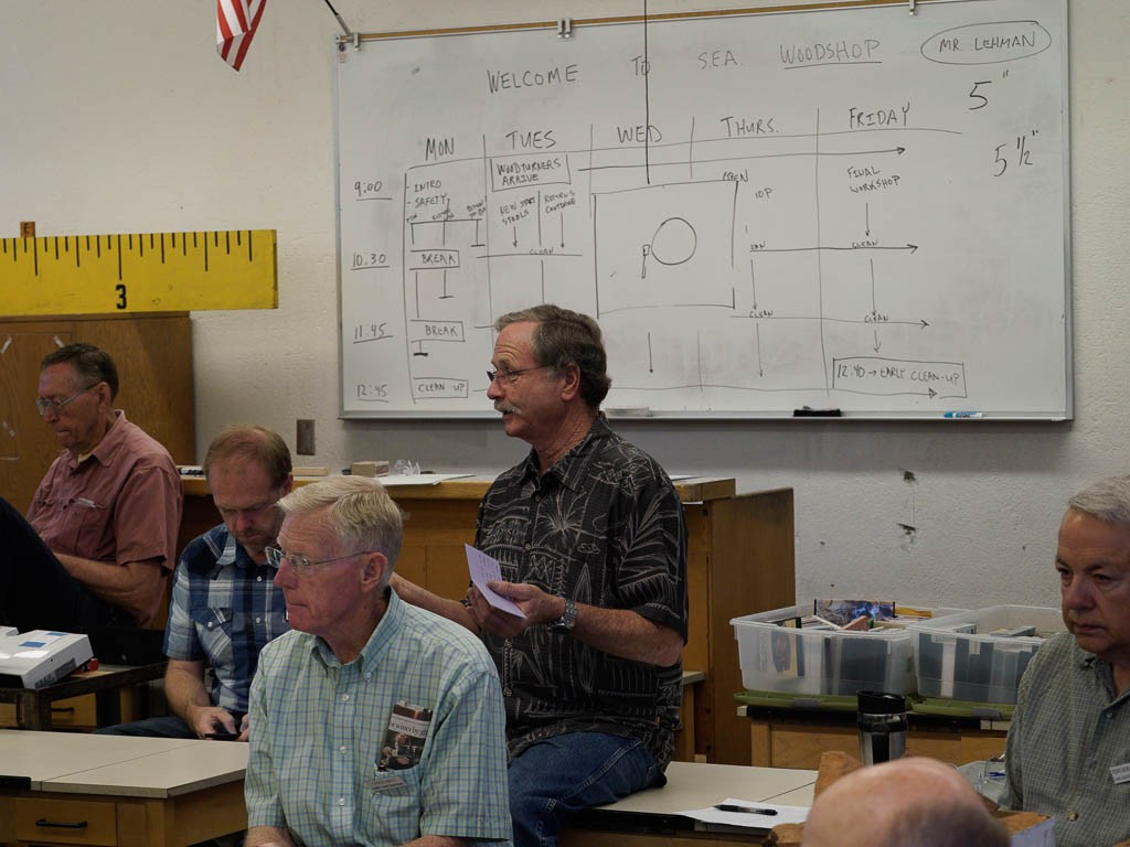 Mark E. discussed plans for the county fair booth and display