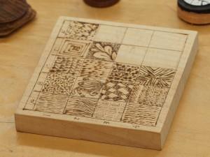 Woodburning textures