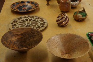 Ron L.: Koa and Oak bowls from boards
