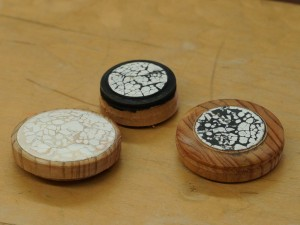 Eggshell inlays