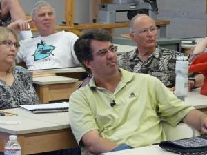 """John Beaver gave slide show talk on his """"Wave"""" design variations"""