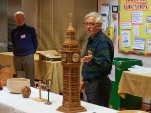 Rick H. - segmented goblet and Big Ben