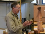 Show and Tell - Jim R. with multi-axis turning