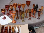 Show and Tell - Rick H. - Woods of the World in goblets