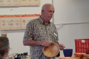 President Dave S. with finish-free Atlas Cedar bowl