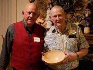 Ray H. got the David Ellsworth Ash bowl