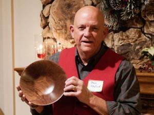 Walnut bowl from Ron L.