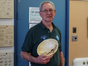Ron L. with Macadamia and Palo Verde bowls