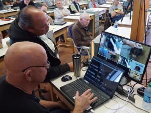 Dave S. described newly acquired video control setup and three remotely pointable cameras