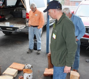 John Al. at wood raffle