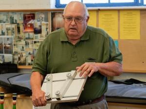Bruce O. refined the design of his segment cuttting jig