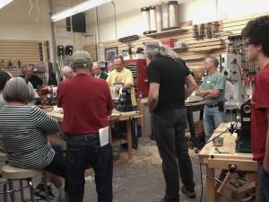 CIW demonstators at Woodcraft store in Ventura