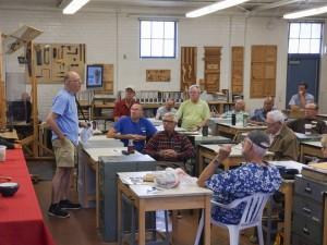 Bruce B. announced Harvey Rich wood turning studio established at Beatrice Wood Ojai