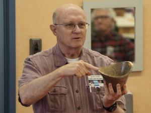 David F.: Blue stain fungus pine bowls
