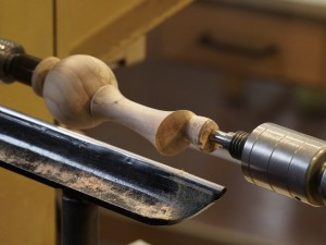 After forming the handle end