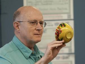David F.:  Dyed bowl