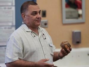 Mark R.: Fruit wood bowl