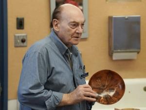 Al G.: Three Norfolk Island Pine bowls with translucent oil finish