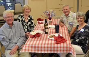 Chuck and Nadine H.; John and Judy A.