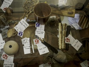 Judged items display case 6