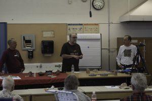 Two volunteers to design teapot