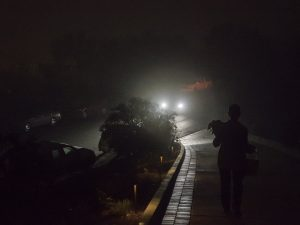 Into the foggy night