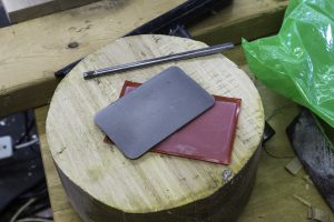 Hones - diamond card and round for inside hook and gouge